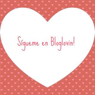 Sígueme en Bloglovin!