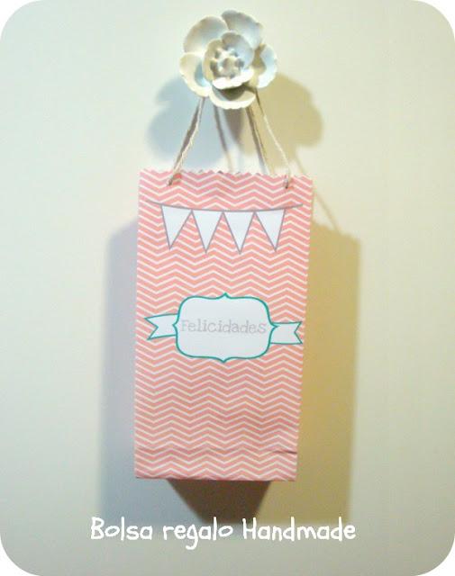 Imprimible para bolsa de regalo y tutorial