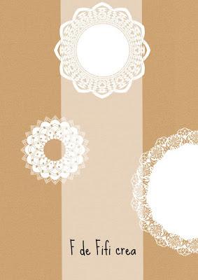 Blondas y papel craft – El imprimible del miércoles semana 21
