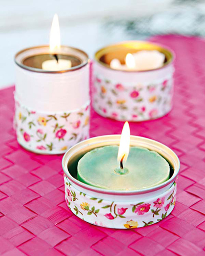 5 ideas para decorar una lata con washi tape, pintura o papel!