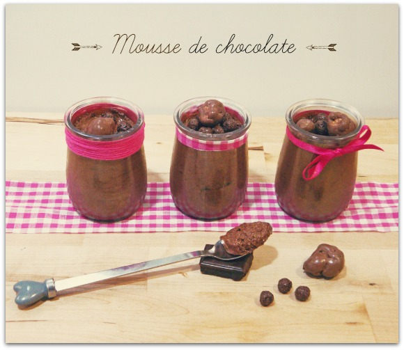 Mouse de chocolate
