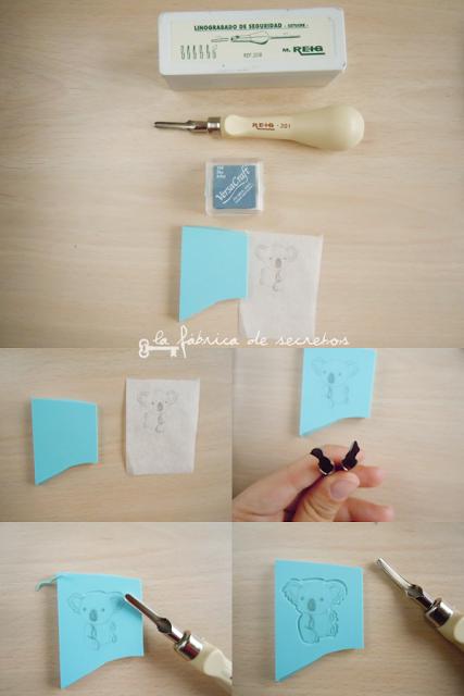 Carvar sellos con gubias