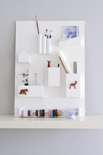Organizador de pared