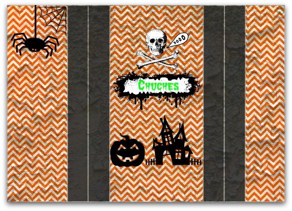 Bolsa chuches Halloween