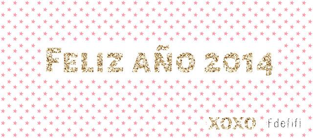 ¡Feliz año 2014! Paz, amor, prósperidad y mucho DIY, y Handmade