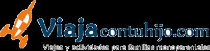 Viajes para familias monoparentales: viajacontuhijo.com o convencionales: viajacontufamilia.com