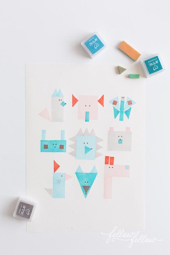 hacer-animales-con-sellos