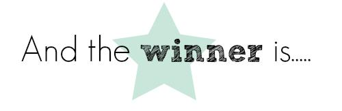 Ganador del sorteo: Kit materiales para manualidades y papelería