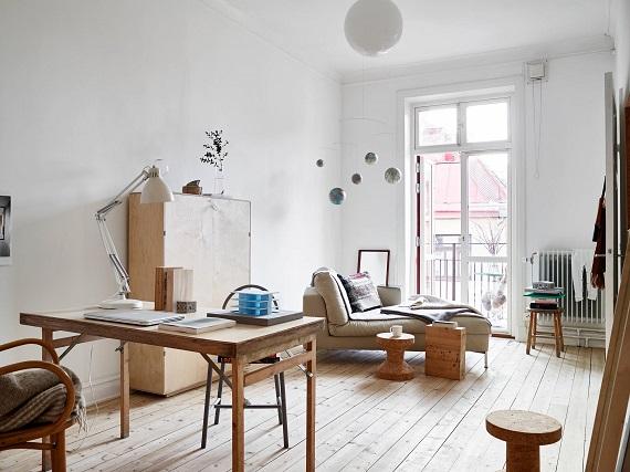 Inspiración: un piso con muchos toques de madera