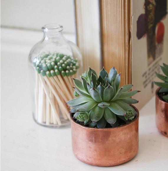 ¿Cómo decorar con objetos de cobre? Ideas + DIY