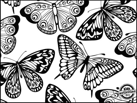 dibujos-mariposas-colorear-3
