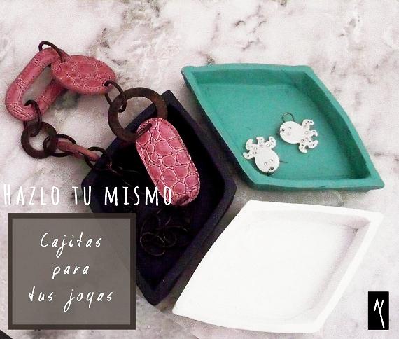 ¿Cómo hacer unas cajas con Fimo para tus joyas?