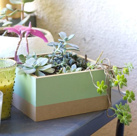 7 DIYs para hacer maceteros molones para tus plantas