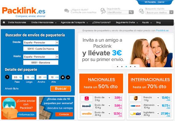 Mi experiencia con Packlink.es: comparador de empresas de transporte