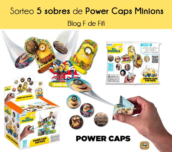 #sorteo Power Caps de los Minions