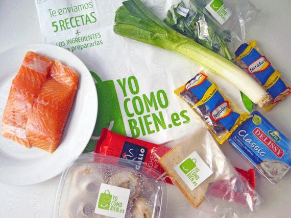 Sello de calidad: Cesta y recetas de yocomobien.es