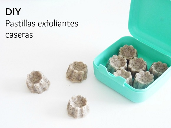 Productos de belleza homemade: DIY pastillas exfoliantes