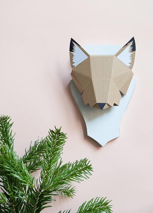 diy-zorro-carton-para-decorar-paredes
