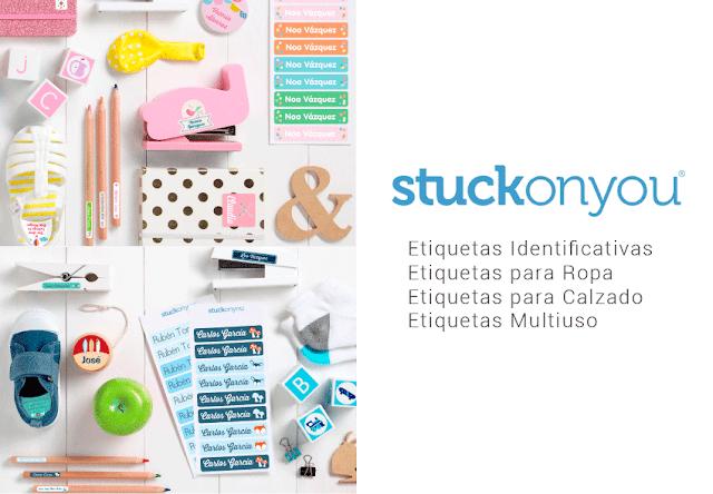 Vuelta al cole: probamos las etiquetas de Stuckonyou