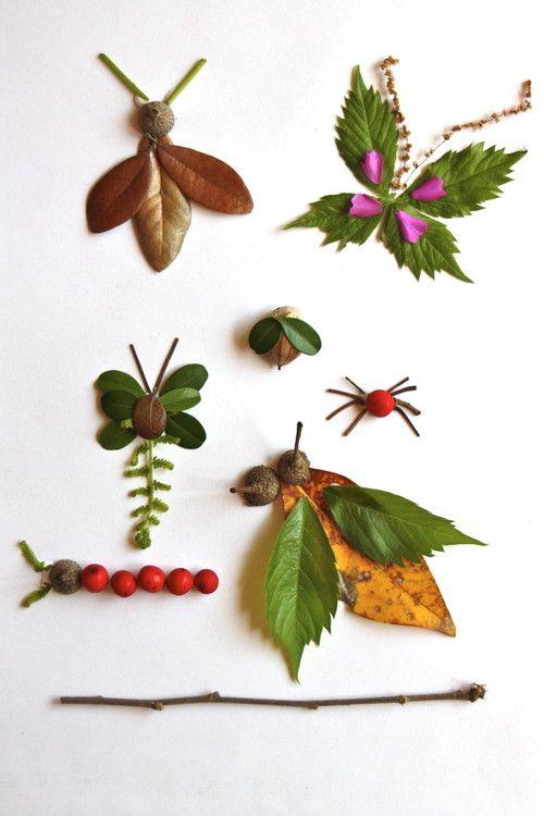 crear-animales-hojas-secas