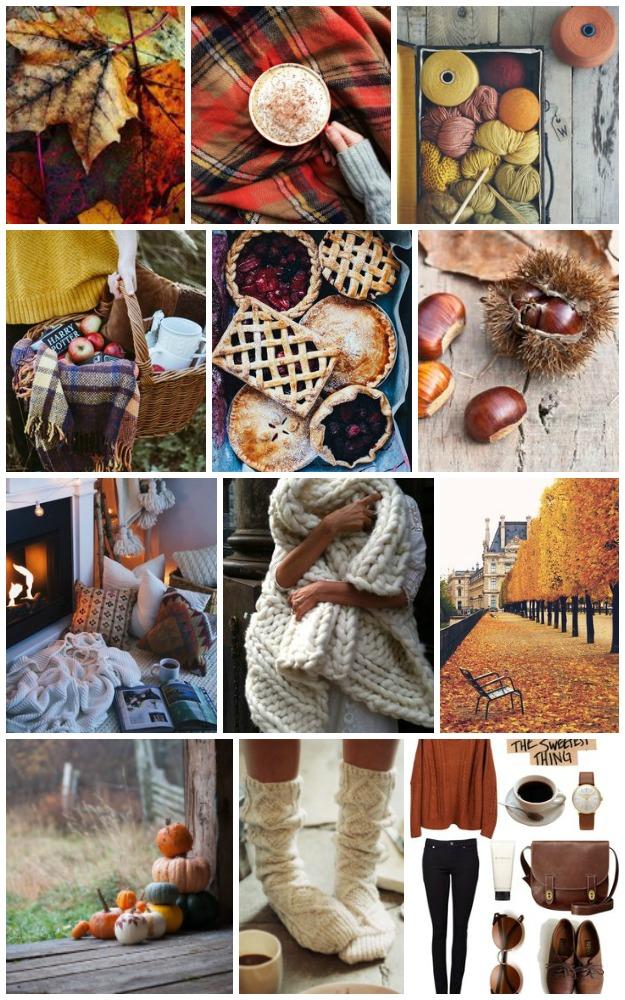 18 cosas para hacer en otoño + Moodboard de inspiración
