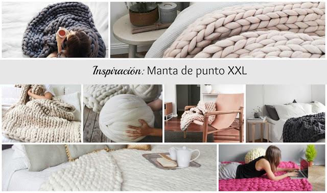 Tendencia: la manta de lana gruesa tamaño XXL para un invierno cálido
