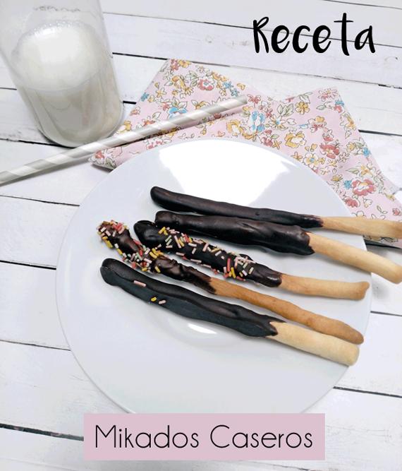 Los famosos palitos de Mikado en versión receta casera