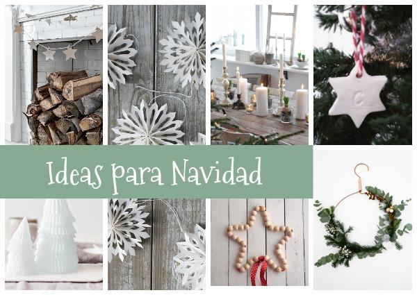 10 ideas de decoración y DIY para Navidad