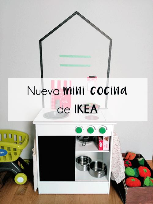 Cocinita NYBAKAD: la mini cocina de juguete de Ikea a un precio low cost
