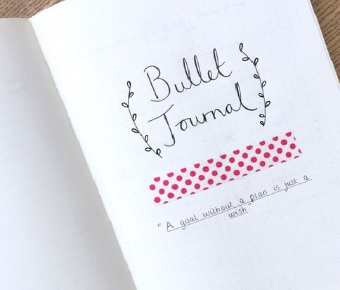 Bullet Journal: organización creativa con una simple libreta