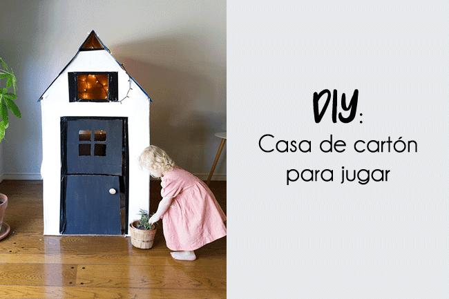 DIY: ¿Cómo hacer una casa de cartón para niños?