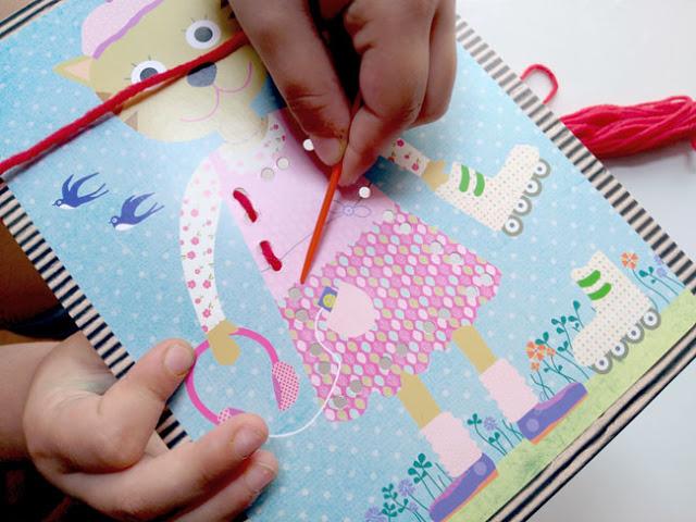 coser-cartas-con-lana