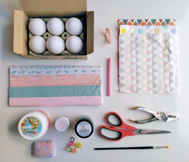decorar-huevos-pascua-material