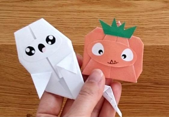 origami-halloween-calabaza-fanstasma