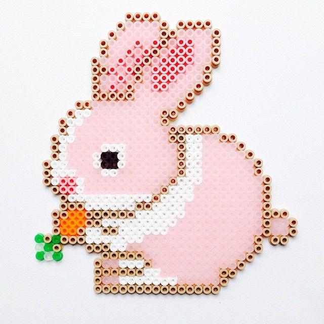 conejo-pascua-perlas-planchar