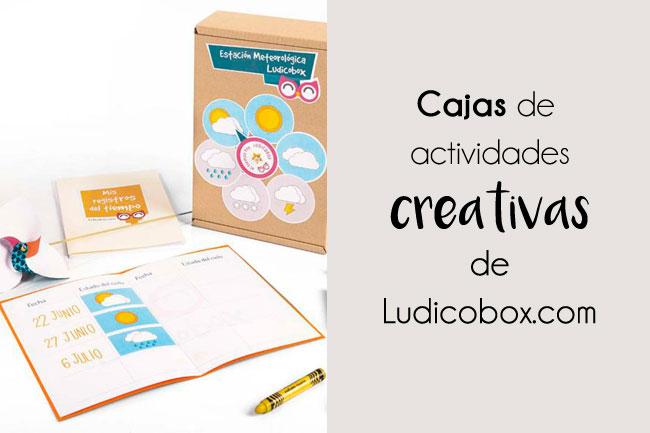 Manualidades chulas con las cajas de actividades creativas de Ludicobox