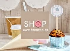 Publicidad tienda online productos fiestas cocotto