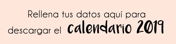 Boton calendario 2019 para imprimir